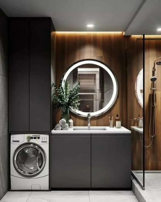 Шкаф для стиральной машины 11