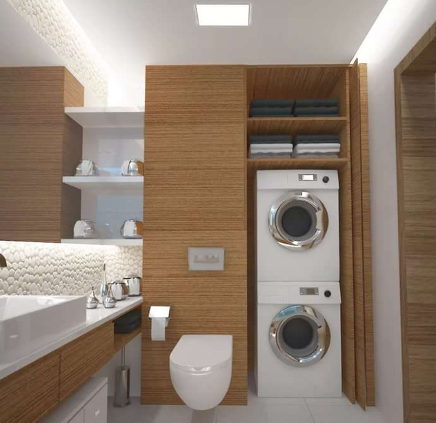 Шкаф для стиральной машины 10